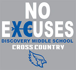Discovery Middle School Cross Country Gear
